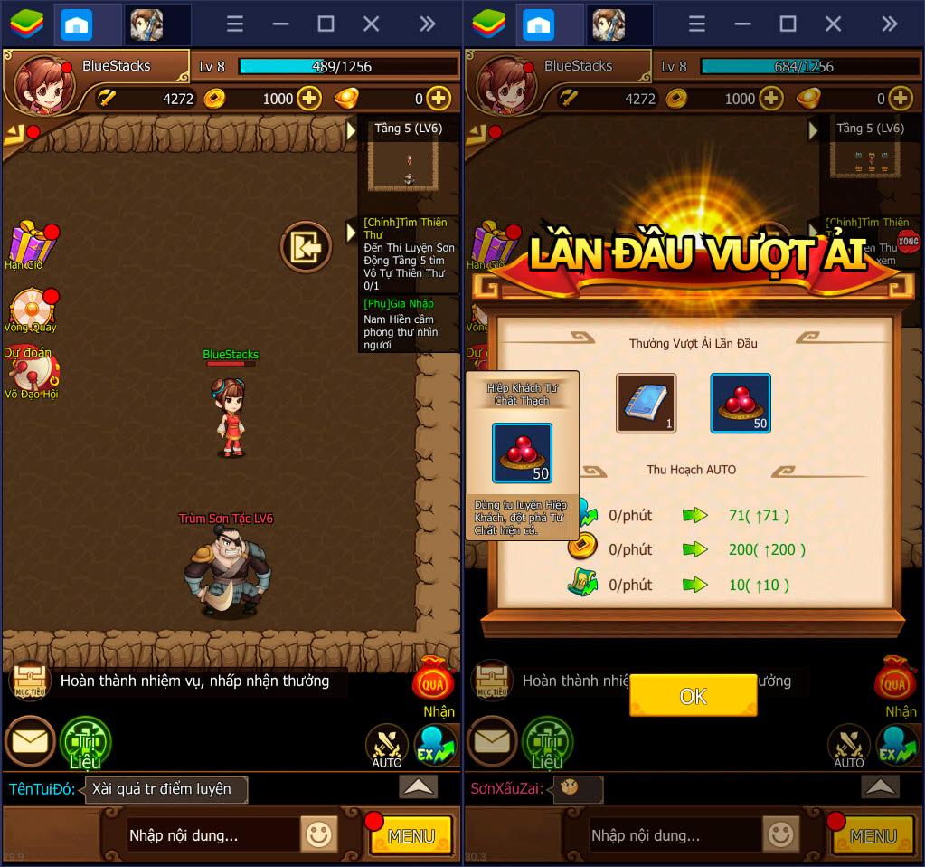 Kungfu Heroes: Hướng dẫn cách chơi cơ bản dành cho game thủ BlueStacks
