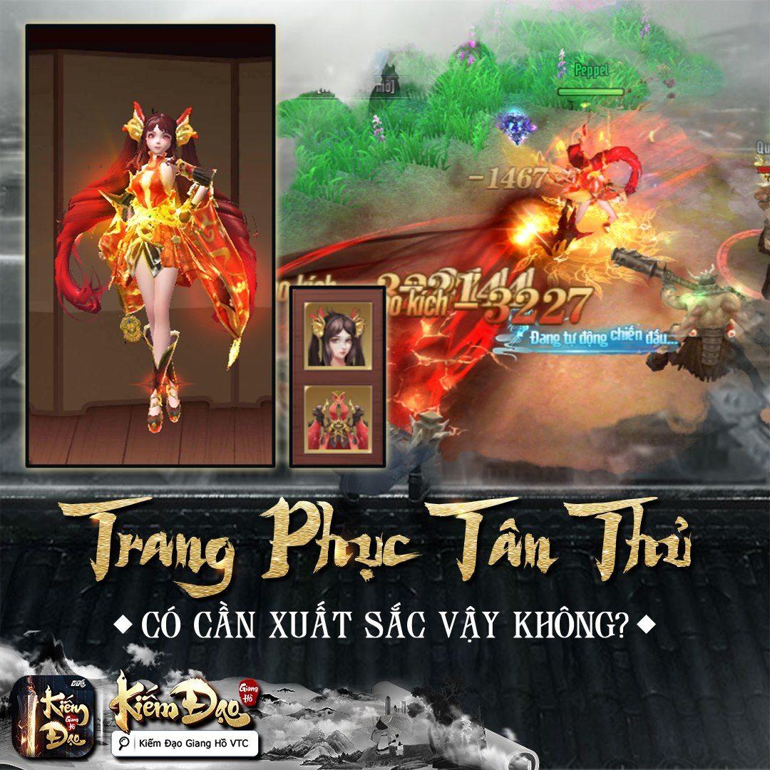 Kiếm Đạo Giang Hồ sắp được VTC Mobile phát hành