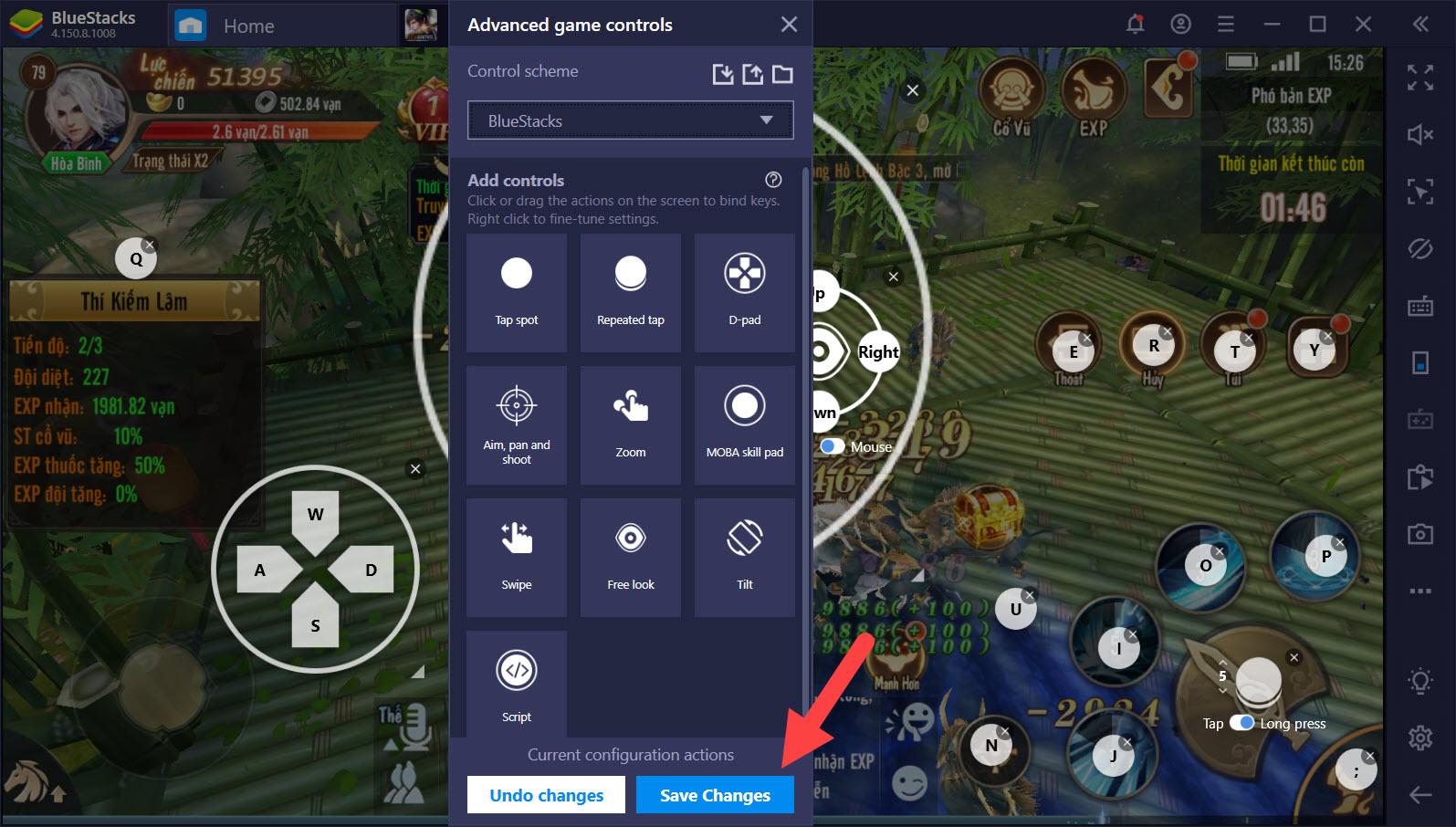 Tối ưu Game Controls khi chơi Hướng dẫn chơi game với BlueStacks