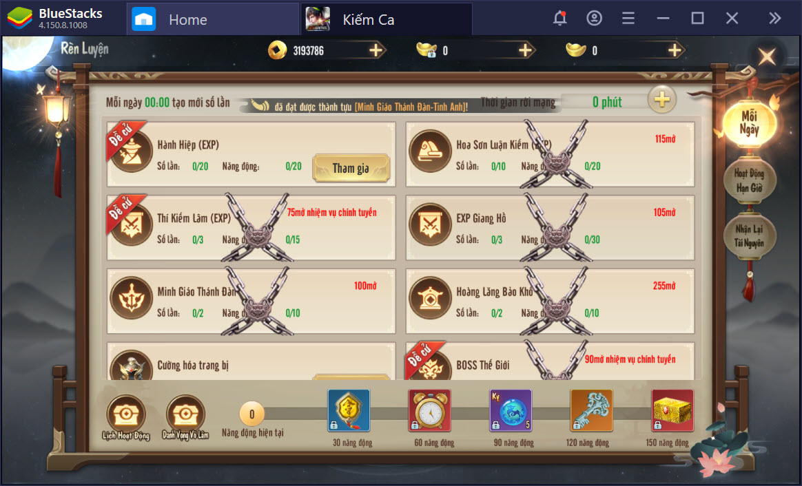 Ngao du thế giới kiếm hiệp Kiếm Ca cùng BlueStacks
