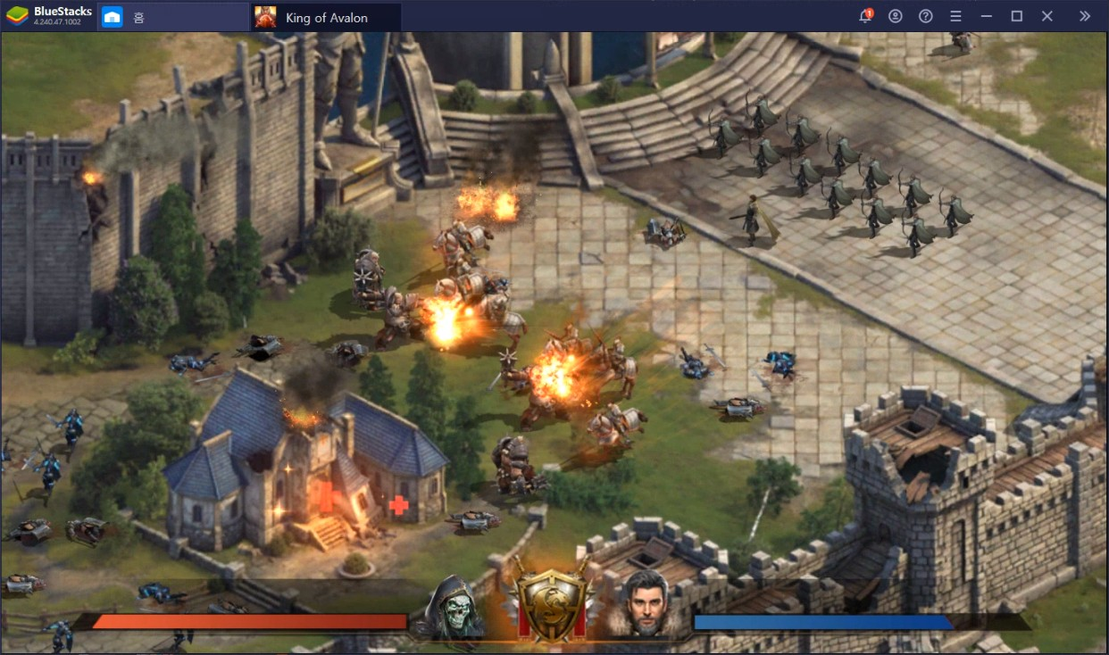 King of Avalon(킹오브아발론) PC로 느끼는 진정한 전략의 재미