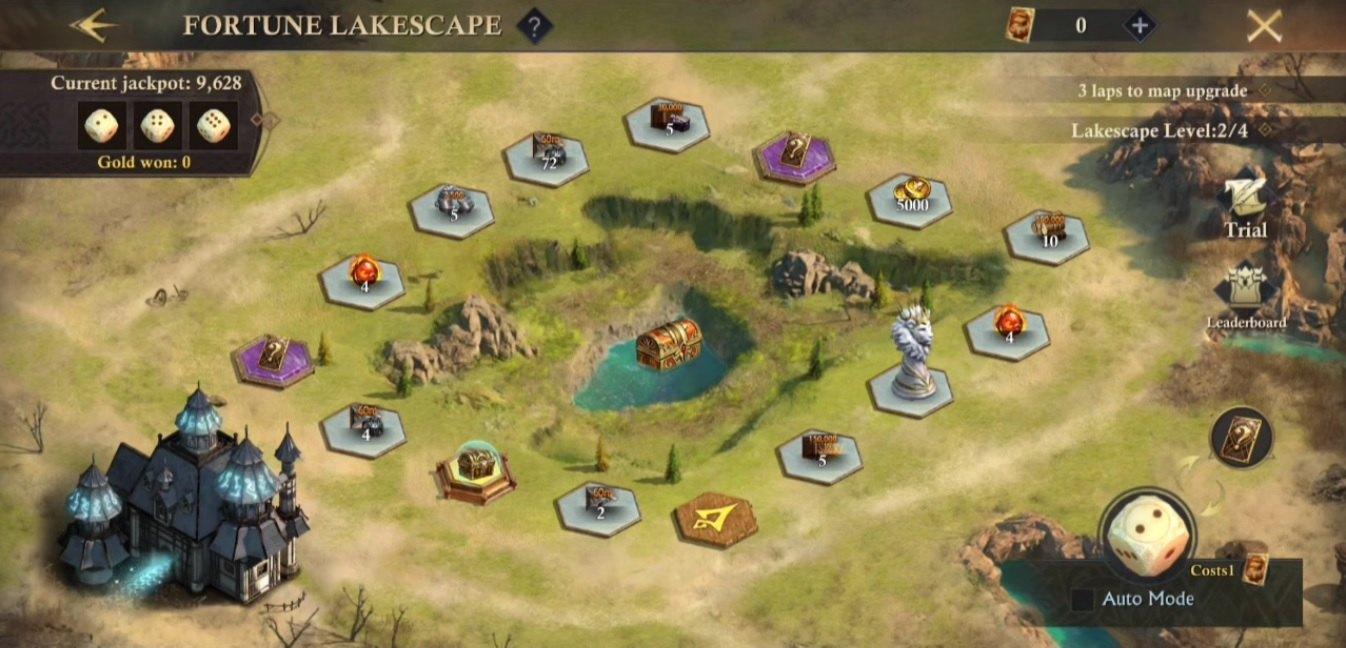 В честь пятилетнего юбилея King of Avalon в игре стартовало событие Fortune Lakescape