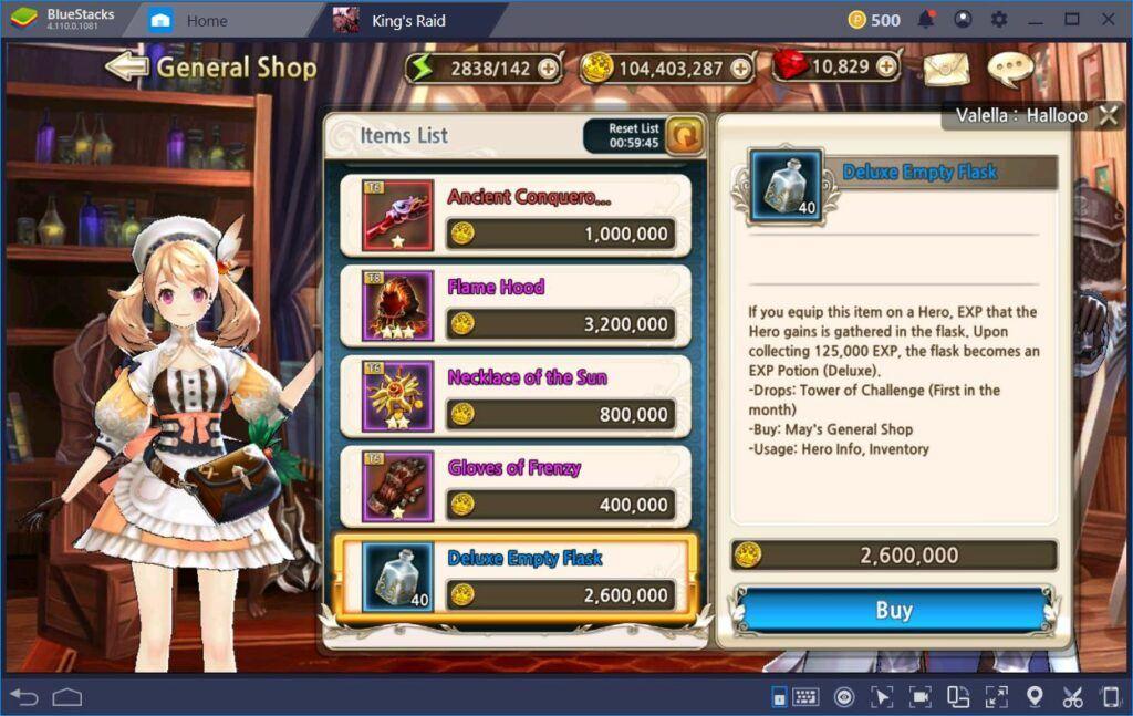 King's Raid: Herolarınızı Güçlendirmenin En Etkili Yolları