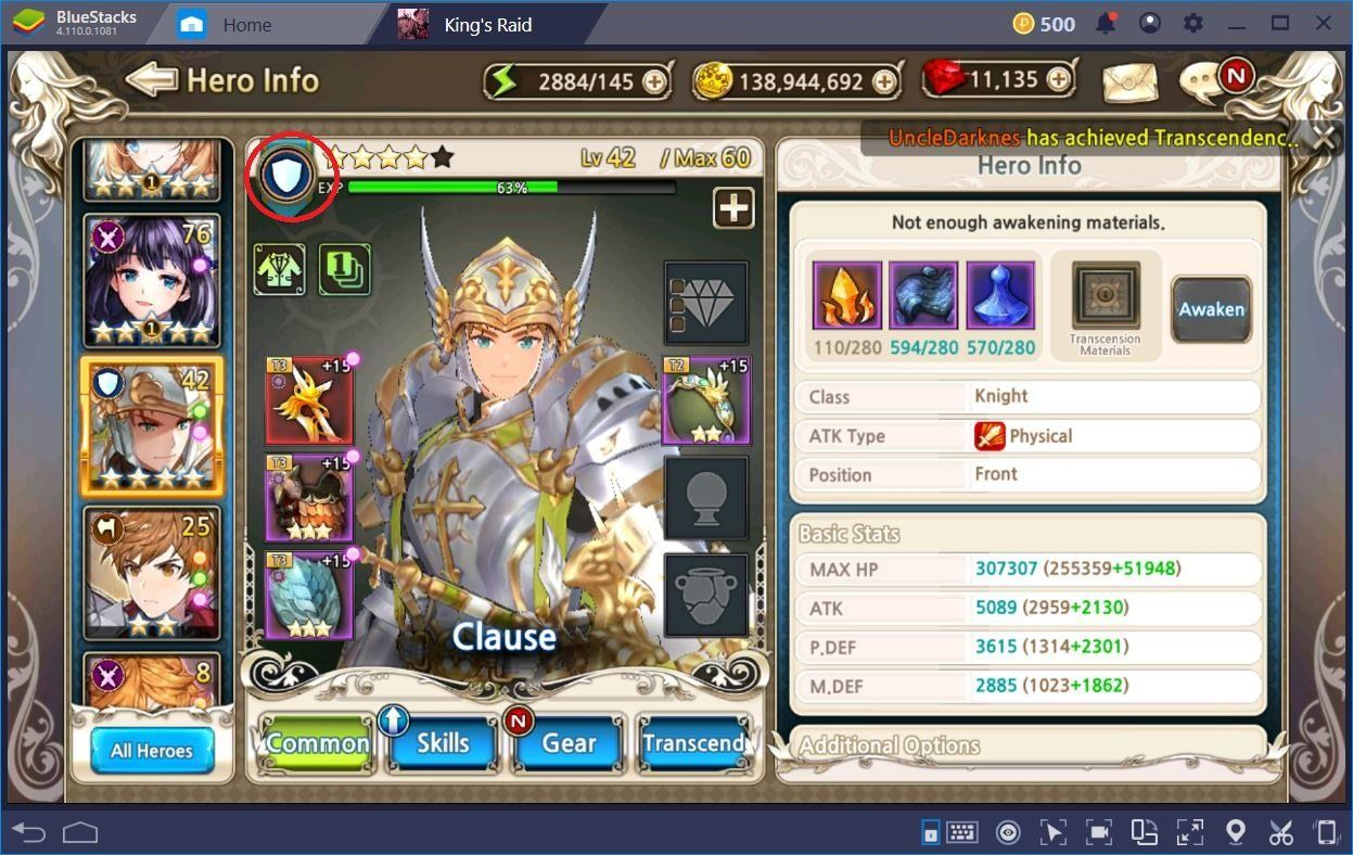 King's Raid: En İyi Takım Kompozisyonunu Oluşturmak