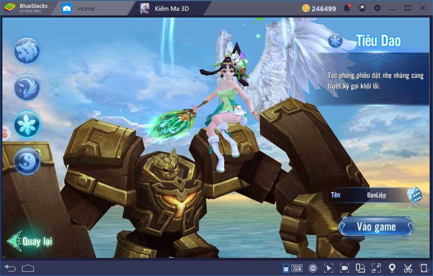 Giới thiệu hệ thống nhân vật trong Kiếm Ma 3D