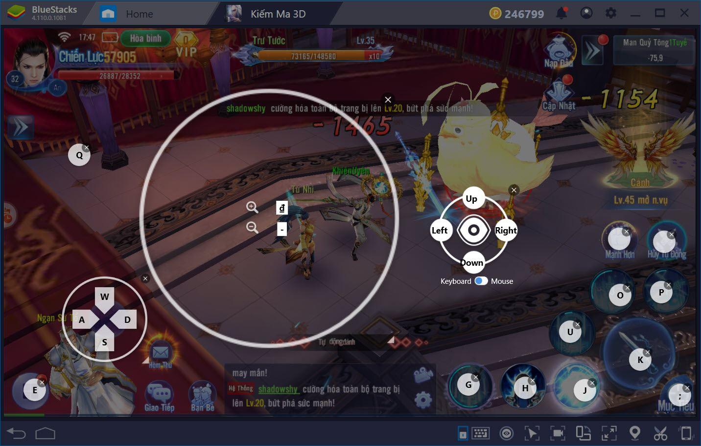 Thiết lập Game Controls để chơi Kiếm Ma 3D tối ưu với BlueStacks