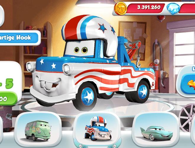 Spielen Cars: Fast as Lightning on pc 14