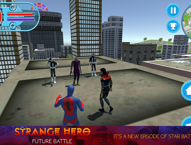 Play Strange Hero: Future Battle on PC 4