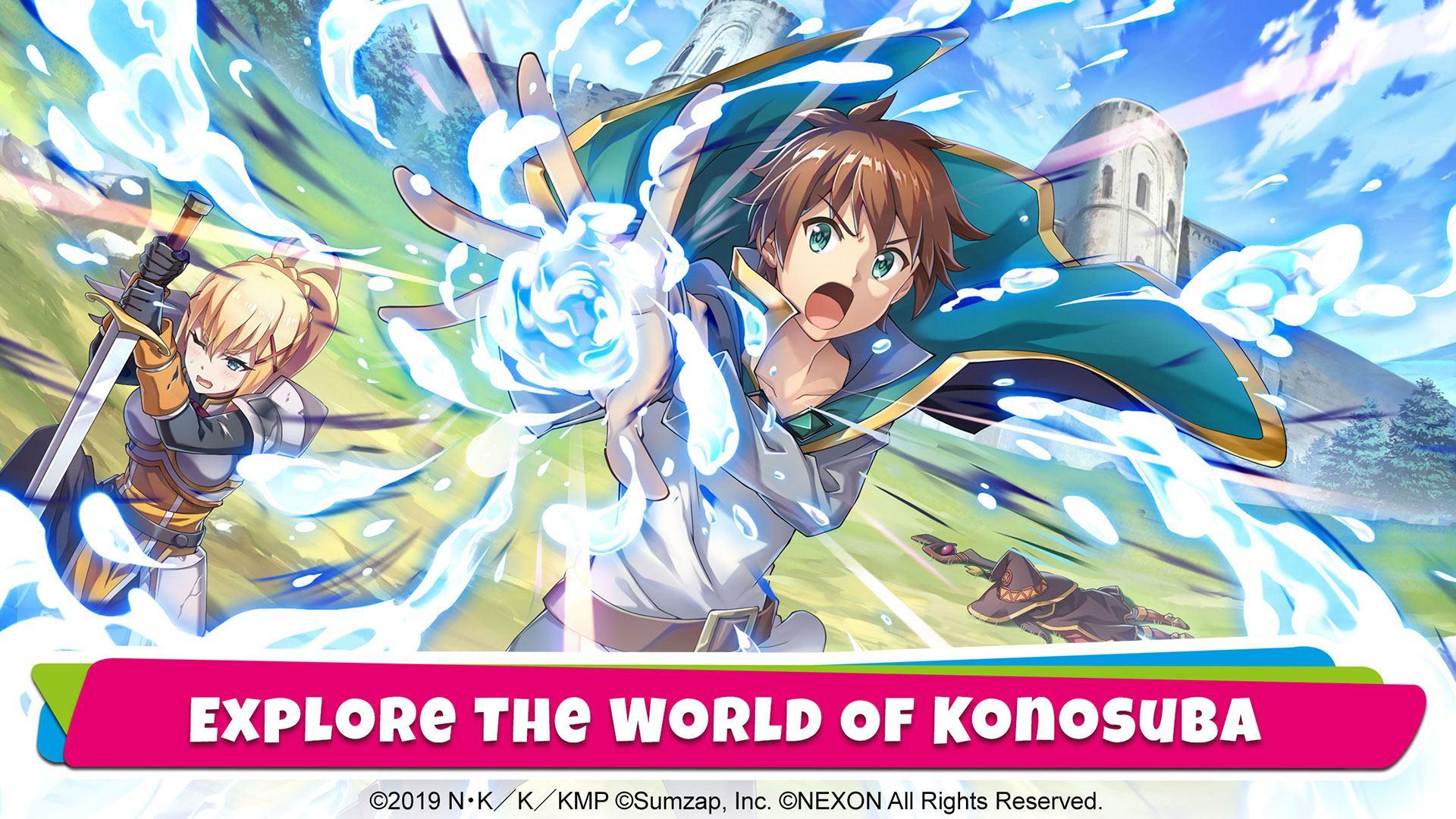 Melihat KonoSuba Fantastic Days yang Siap Dirilis Dalam Waktu Dekat!