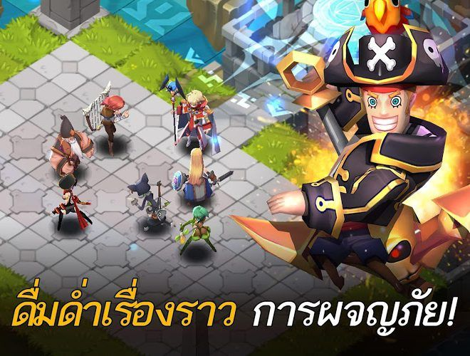 เล่น Fantasy War Tactics on PC 4