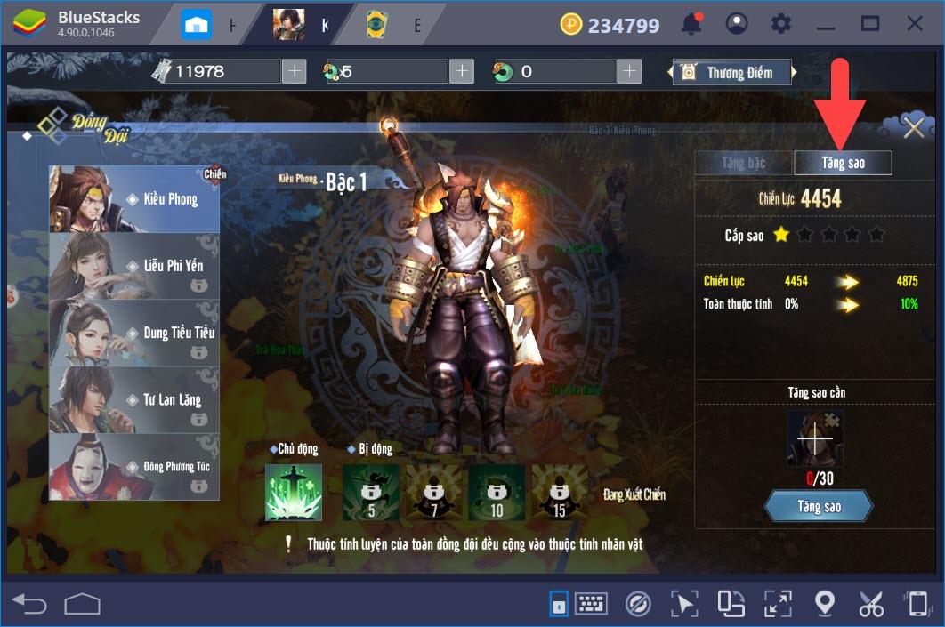 Kiếm Vương Truyền Kỳ: Hướng dẫn gia tăng võ hồn, kỹ năng và trang bị nhân vật