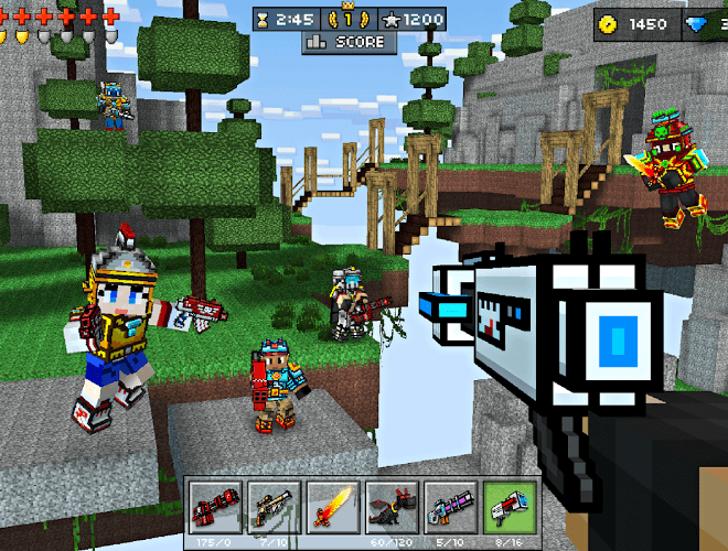 Play Pixel Gun 3D on PC 12