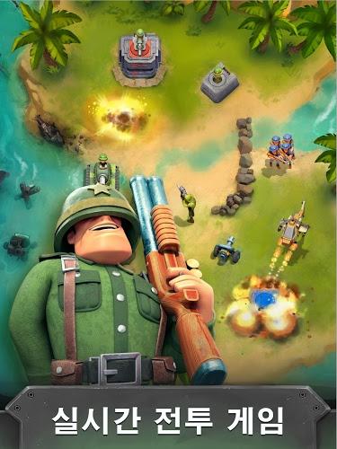 즐겨보세요 전쟁 영웅 : 무료 멀티 플레이어 게임 (War Heroes) on PC 8