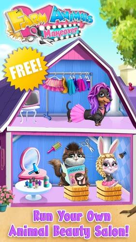Play Farm Animals Makeover – Cute Virtual Pet Salon on PC 5
