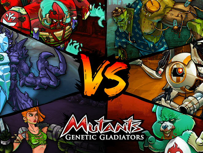 Играй Mutants Genetic Gladiators on pc 2