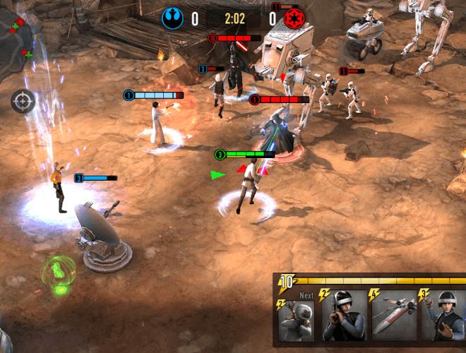 Играй Звездные Войны: Арена Силы На ПК 20