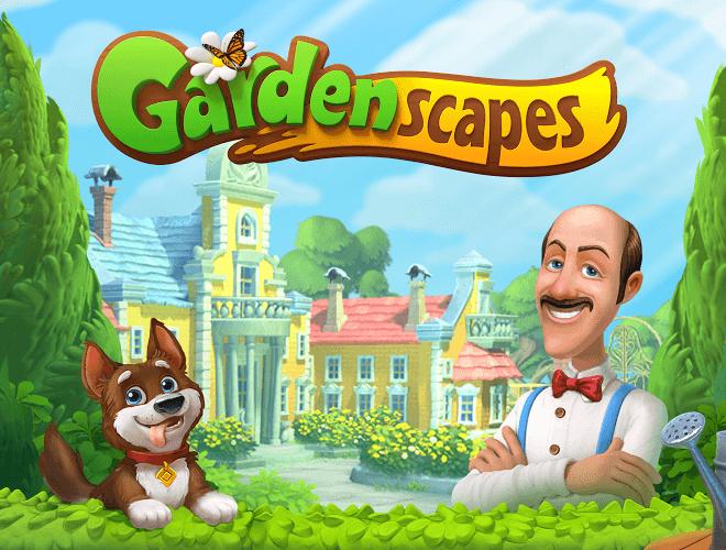 Jouez à  Gardenscapes sur PC 21