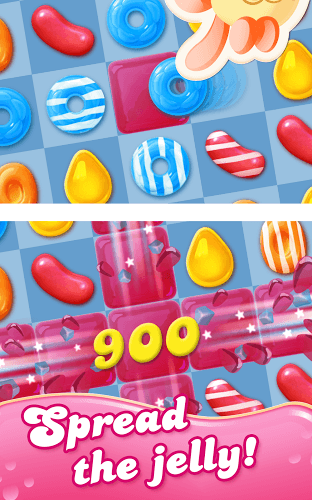 เล่น Candy Crush Jelly Saga on PC 9