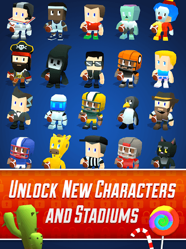 Play Blocky BEASTMODE® Football on PC 13