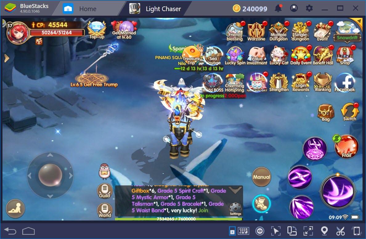 Light Chaser: Tìm hiểu hệ thống Single và Multiple Dungeon