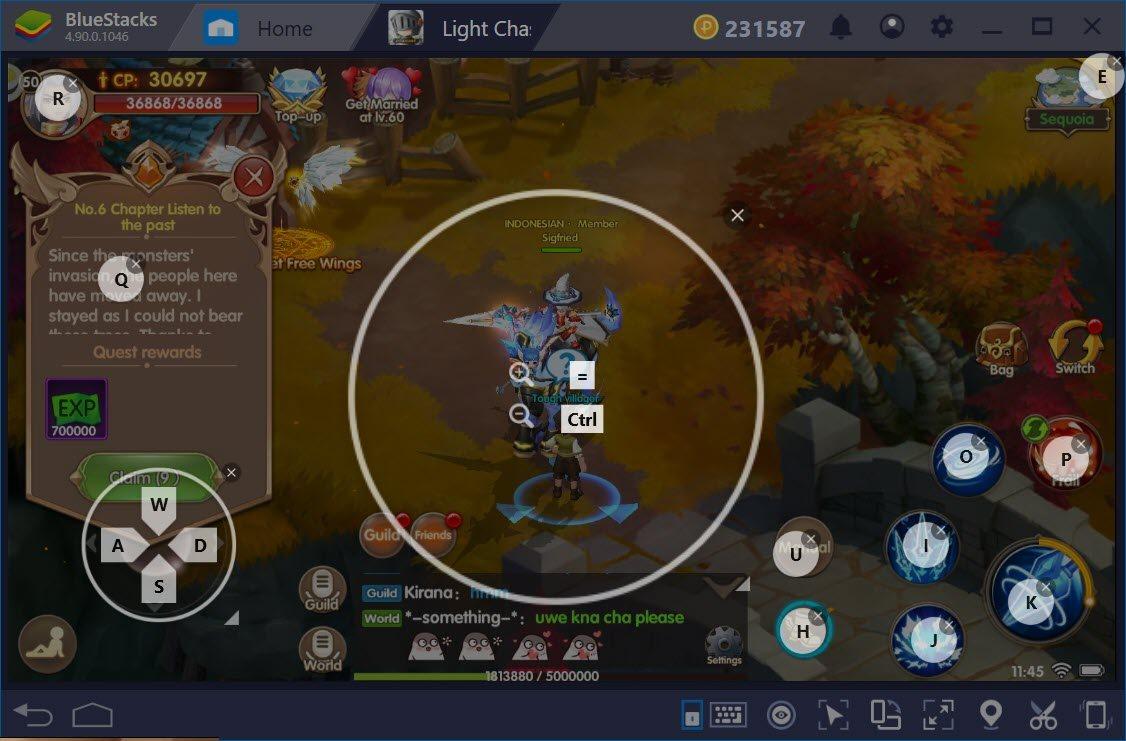 Thiết lập Game Controls để chơi Light Chaser dễ dàng hơn