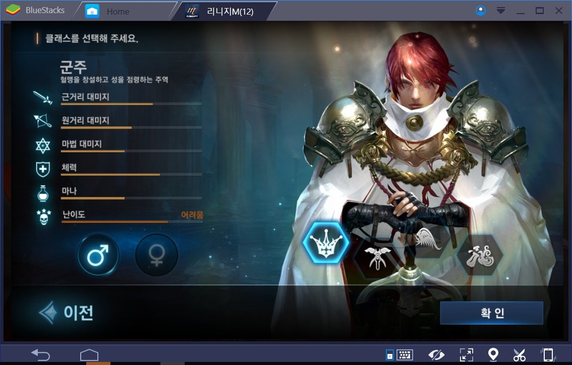 Lineage M: A brief look at the 4 character classes