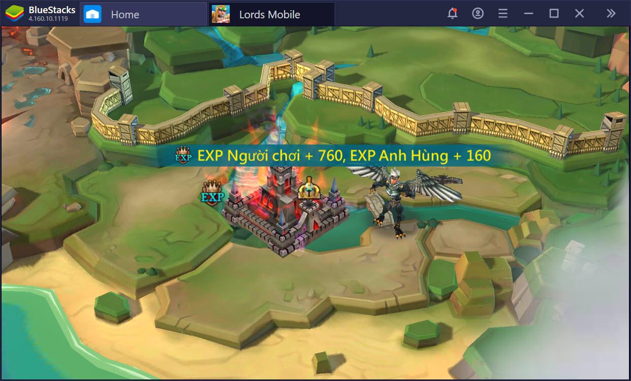 Khám phá thế giới anh hùng trong Lords Mobile với BlueStacks