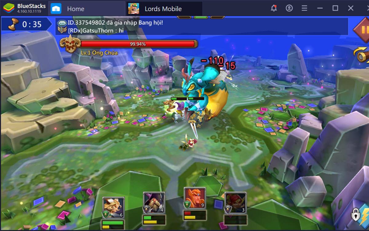 Các mẹo hữu ích giúp bạn chơi Lords Mobile hiệu quả hơn