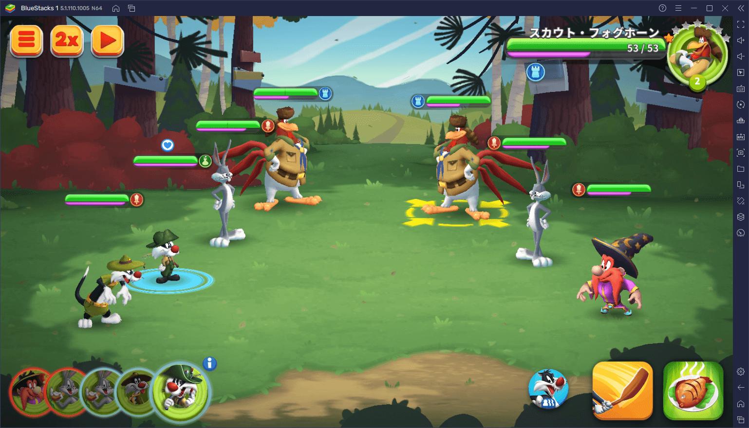 BlueStacksを使ってPCで『Looney Tunes™ ワールド・オブ・メイヘム』を遊ぼう
