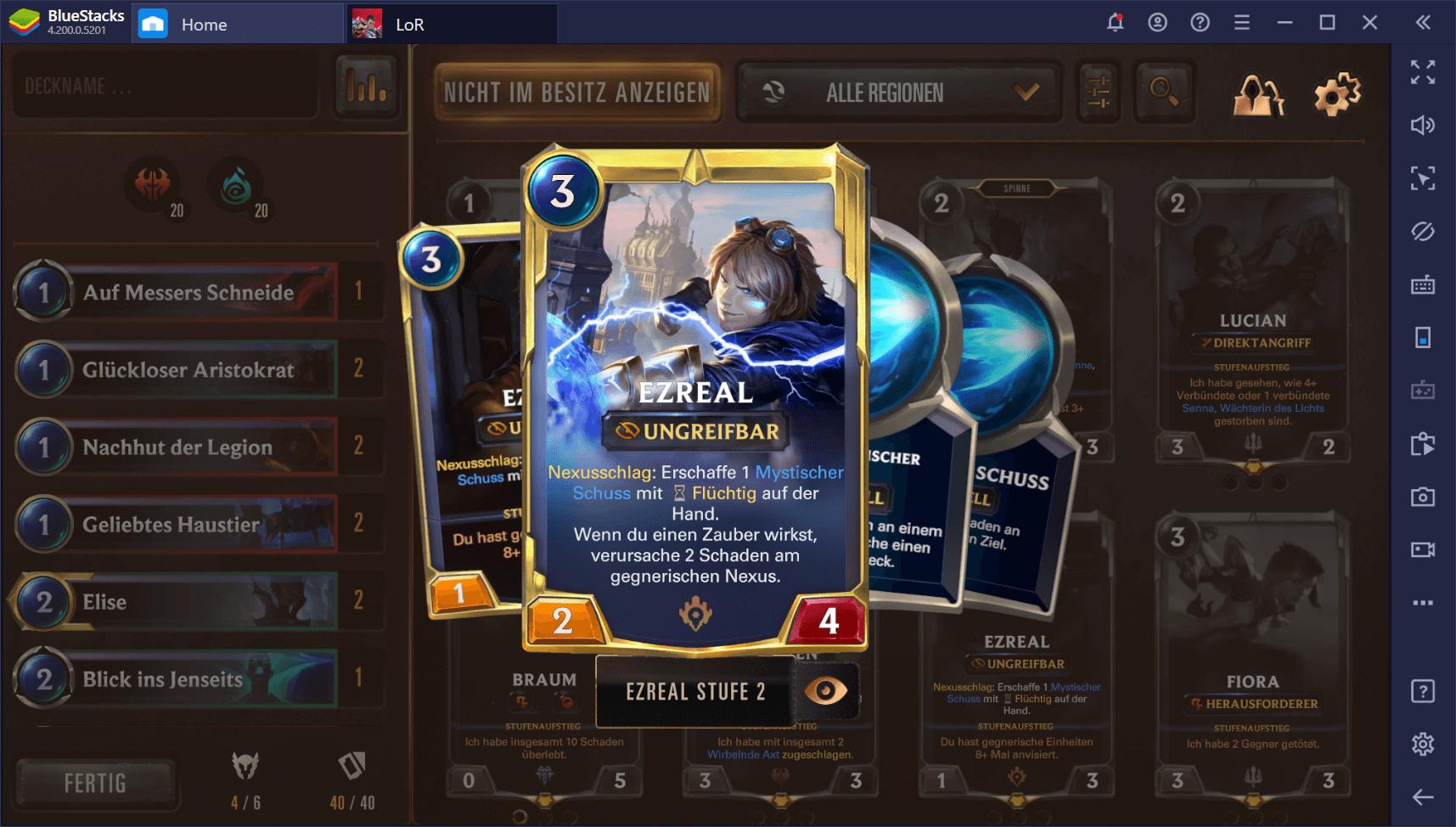Die besten Championkarten in Legends of Runeterra (April 2020)
