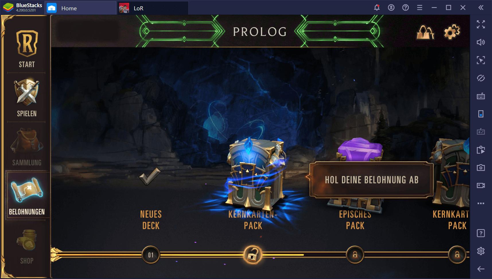 Legends of Runeterra auf dem PC – So gewinnst du neue Karten und erweiterst deine Decks