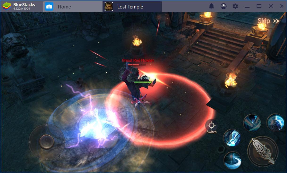 Khám phá các lớp nhân vật trong Lost Temple