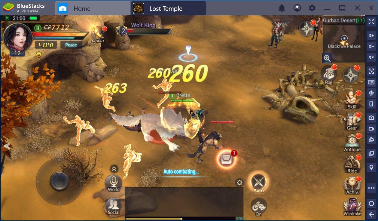 Tối ưu PvP trong Lost Temple với hệ thống Game Controls