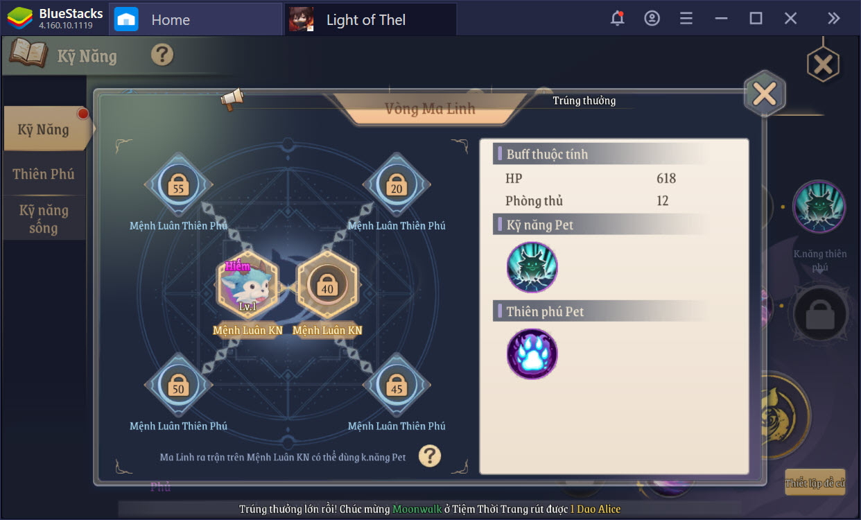 Tìm hiểu hệ thống nhân vật trong Light of Thel: Glory of Cepheus