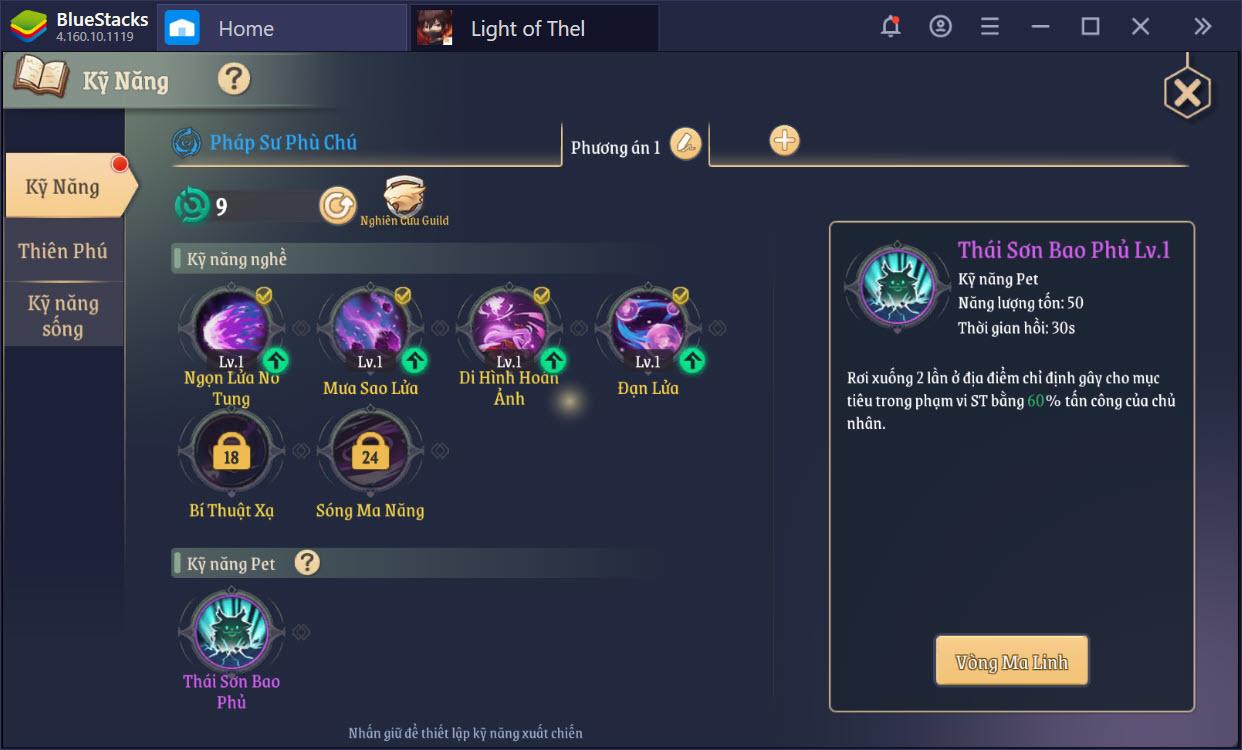 Mẹo lên cấp nhanh cho người mới chơi Light of Thel: Glory of Cepheus