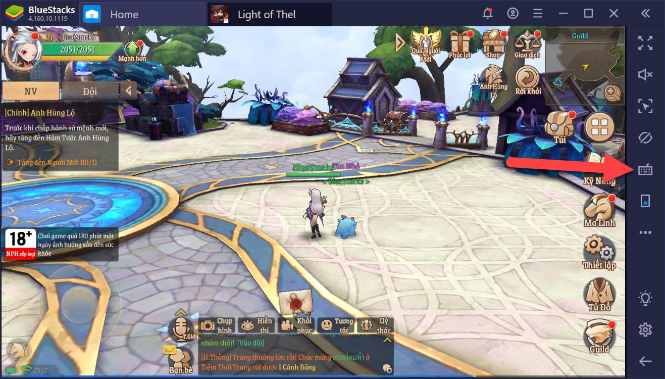Thiết lập Game Controls tối ưu để chiến thắng PvP trong Light of Thel