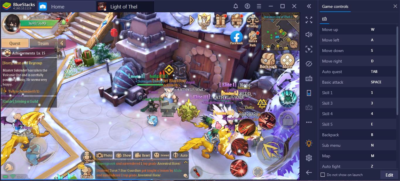 Cara Asyik Pemula Main Light of Thel: Glory of Cepheus di PC