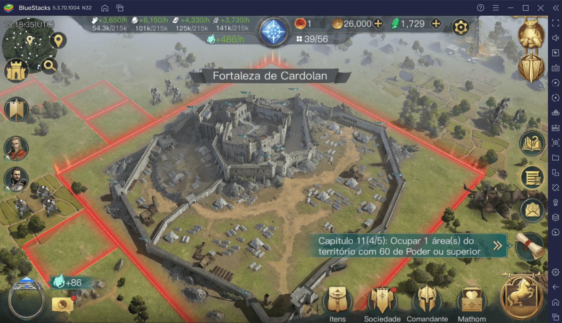 Guia de Iniciantes BlueStacks para começar com tudo em O Senhor dos Anéis: Guerra