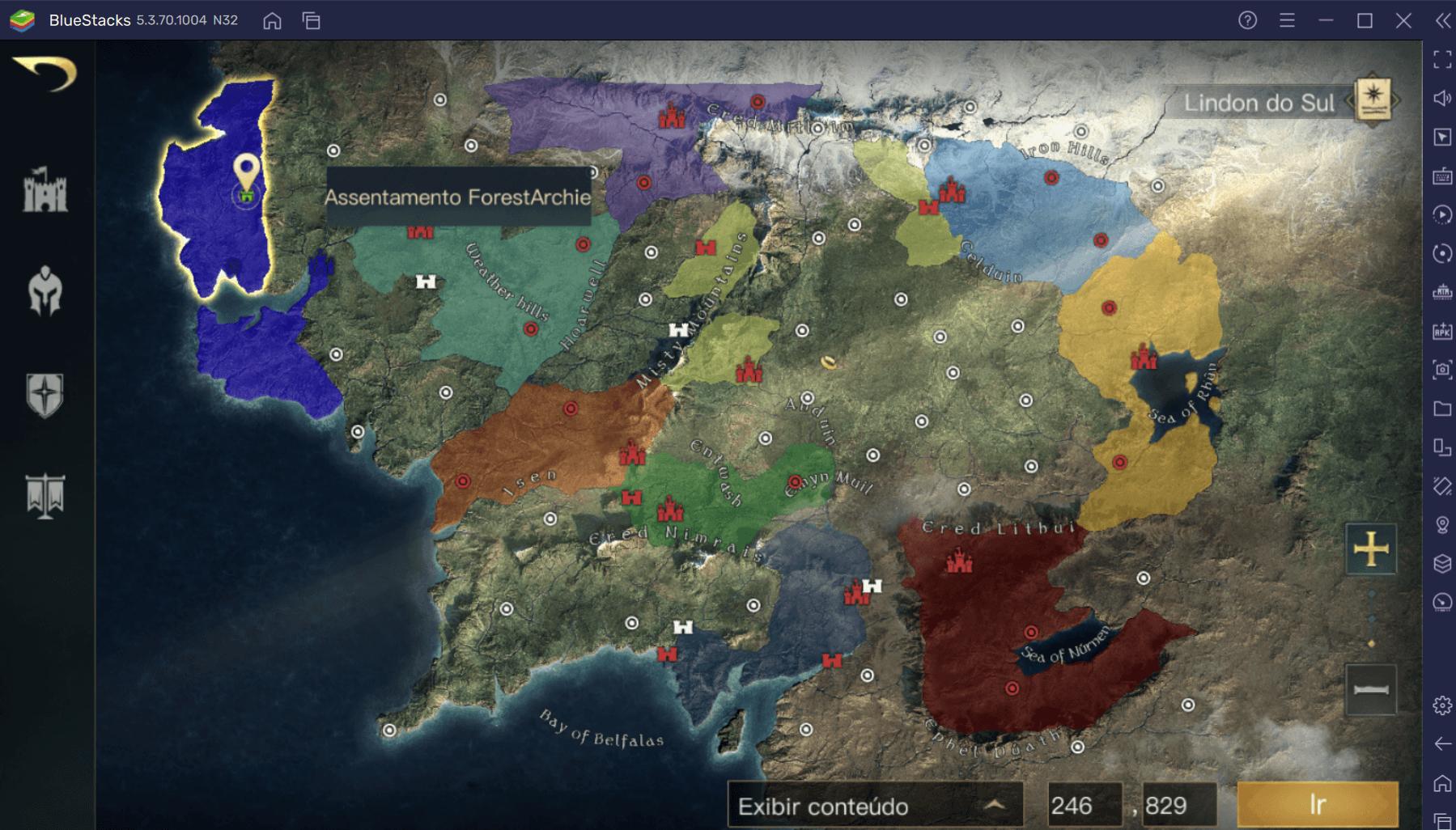 Dicas e Truques para evoluir rapidamente em O Senhor dos Anéis: Guerra