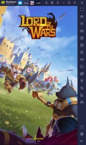 How to Play Lord of The Wars: Kingdoms on PC with BlueStacks