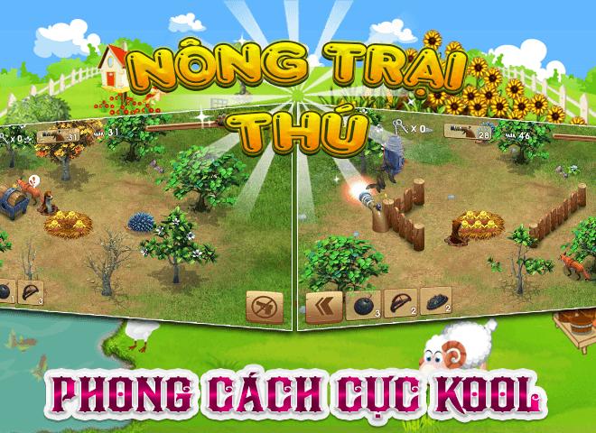 Chơi Nong Trai Thu – Dau Truong Thu on PC 17