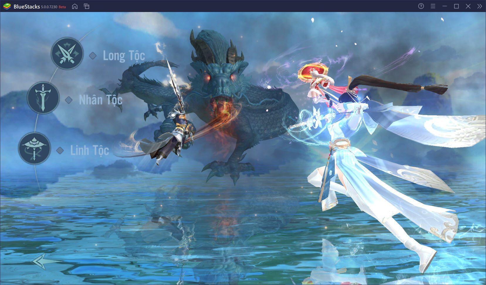 Giới thiệu hệ thống nhân vật trong Long Vũ 3D