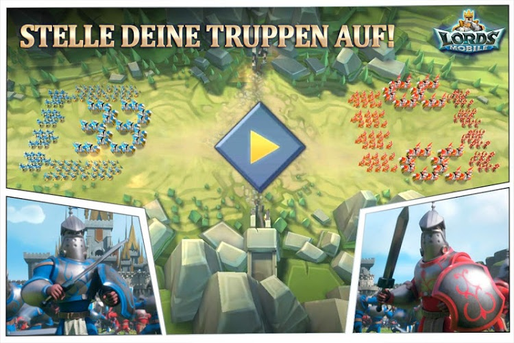 Spiele Lords Mobile auf PC 3