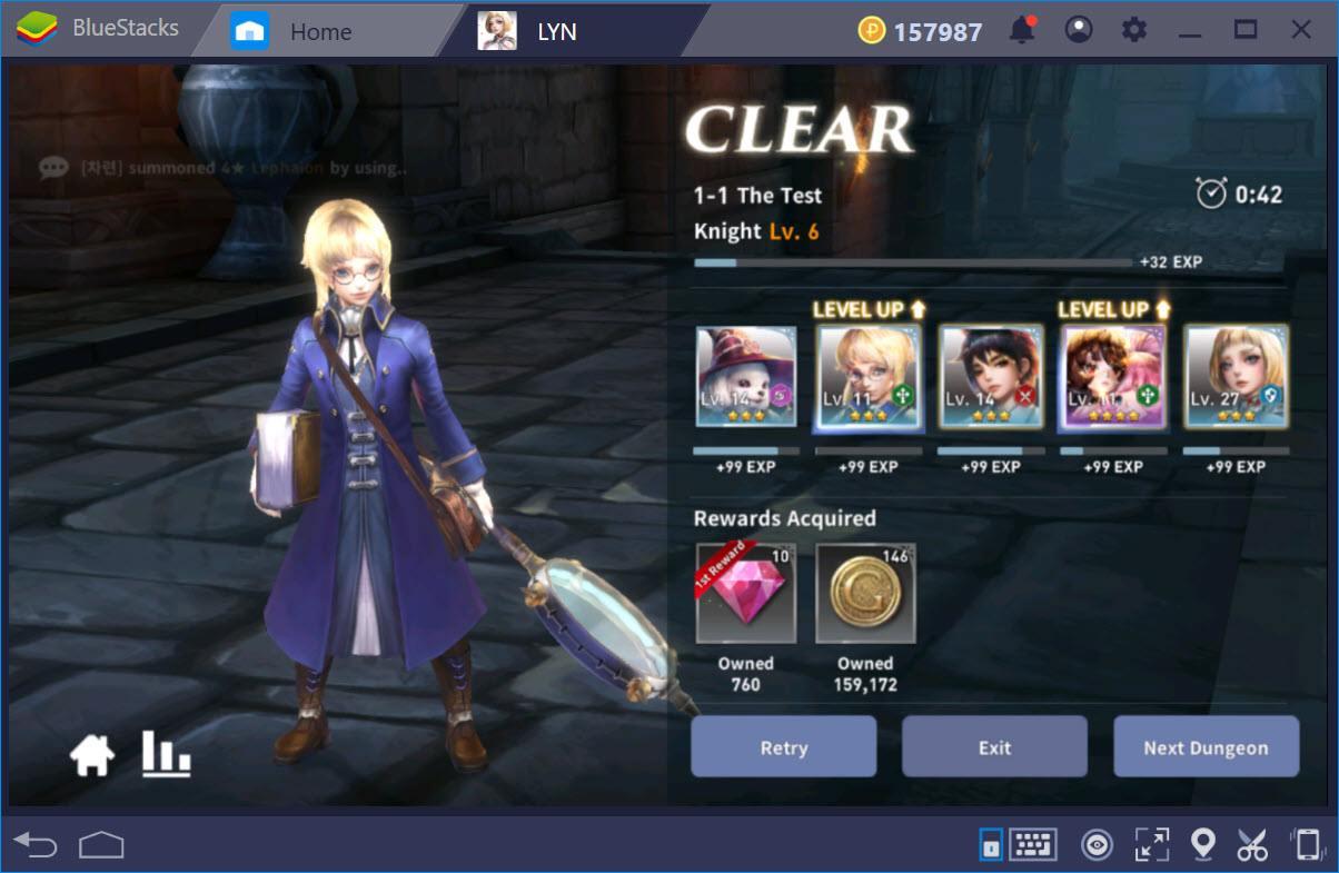 LYN: The Lightbringer – Hướng dẫn nâng cấp và thăng cấp nhân vật