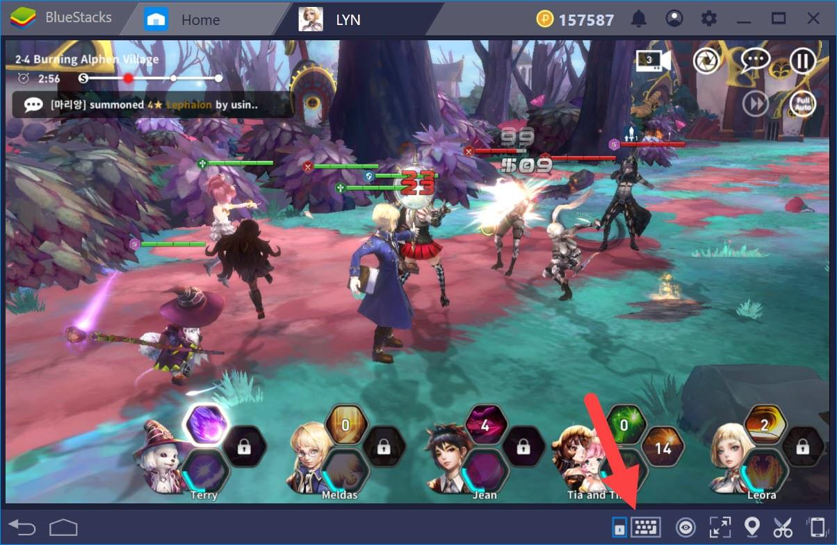 Thiết lập Game Controls điều khiển nhân vật trong LYN: The Lightbringer