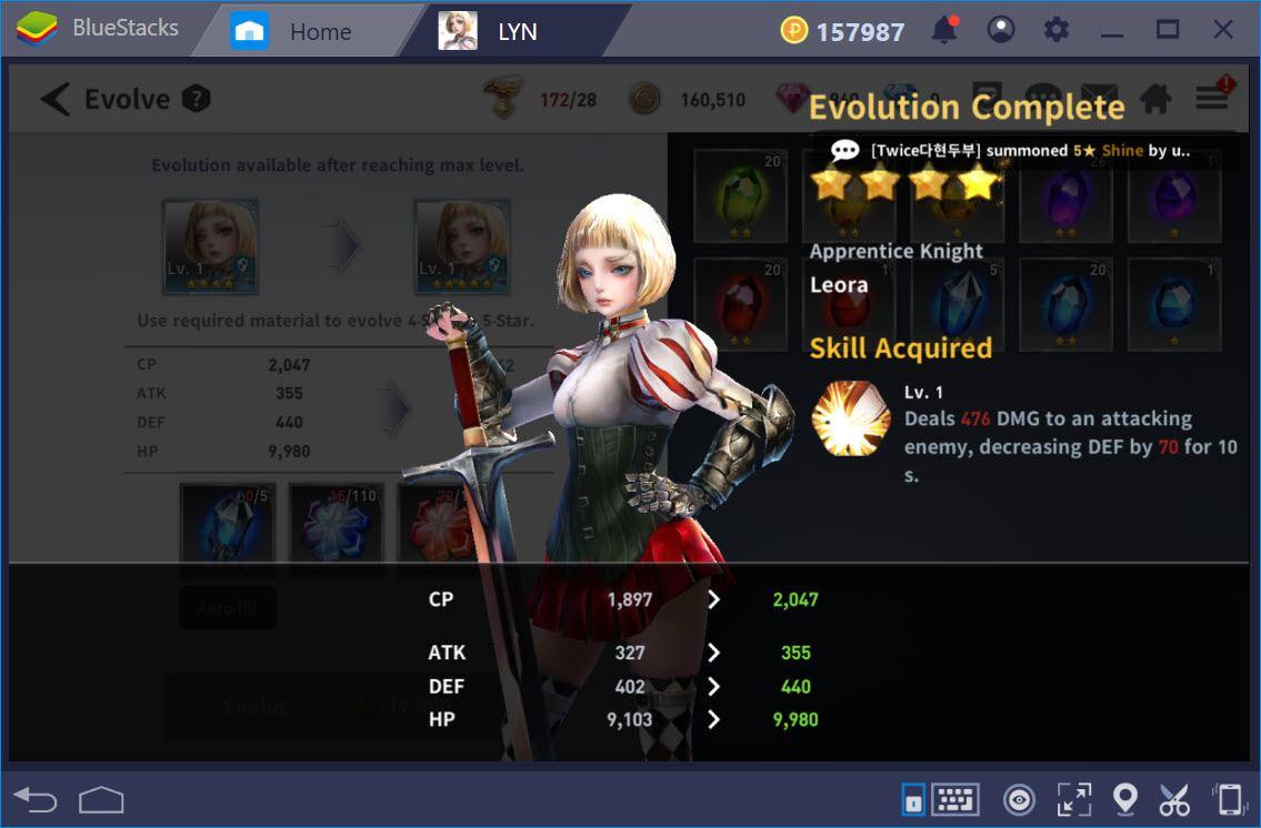 LYN:The Lightbringer – Cách tăng sức mạnh cho skill nhân vật và team