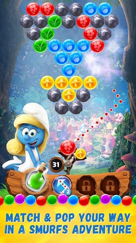Play Smurfs Bubble Story on PC 5
