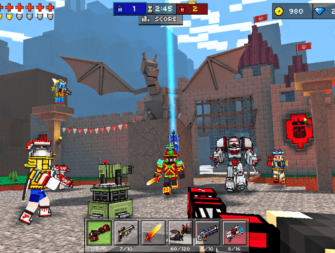 Play Pixel Gun 3D on PC 13