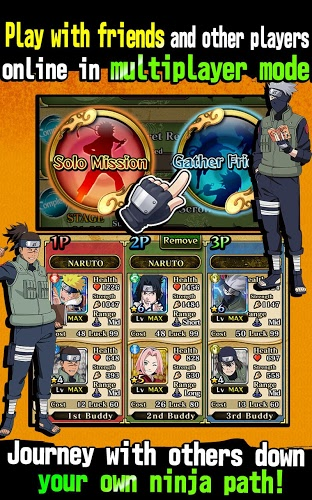 เล่น Ultimate Ninja Blazing on PC 12