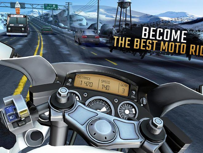 Play Moto Rider GO: Highway Traffic on PC 8